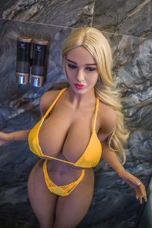 153cm Slender Waist Busty Love Doll for Sex - Hedy JY Doll