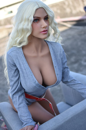 165cm Blonde Life Size Sex Doll - Rose 6Ye Doll