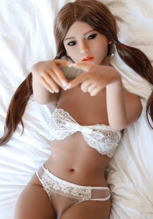 140cm Small Chested Petite Love Sex Doll - Elsie SY Doll