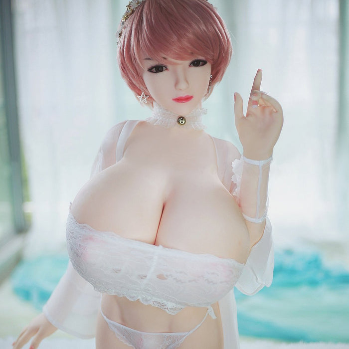 140cm Huge Boobs U Cup Silicone Lifelike Doll – April