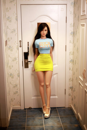 157cm Lifelike Sex Doll with Silicone Head - Edith JY Doll