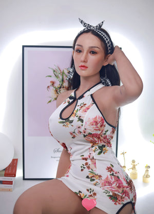 166cm Celebrity Sex Doll Silicone Head - ZhaoMin JY Doll