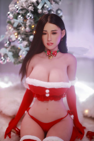 164cm Big Breasts Sex Doll with Silicone Head - Rong JY Doll