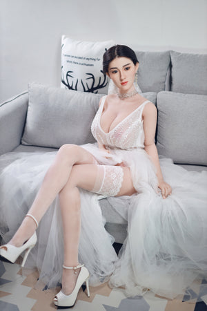 164cm Real Sex Doll with Silicone Head - XiaoFei JY Doll
