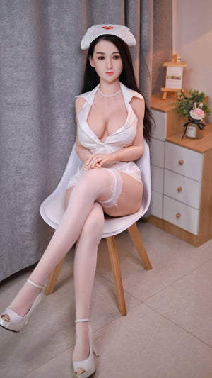 161cm Silicone Head Adult Love Doll - FeiFei