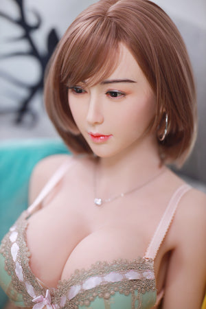 161cm Silicone Head Lifelike Sex Doll - XiaoNuo