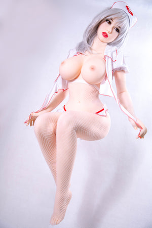 158cm Life-like Nurse TPE Sex Doll for Adult - Rina  JY Doll
