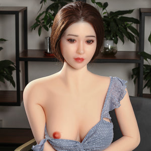 165cm Silicone Head Chinese Sexy Sex Doll - Cynthia