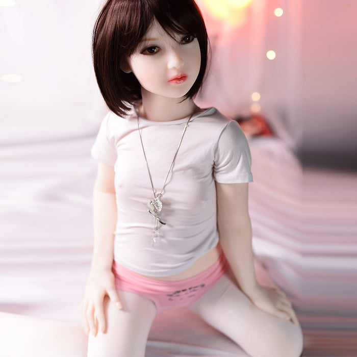 122cm Small  Flat Chest Sex Doll - Shino