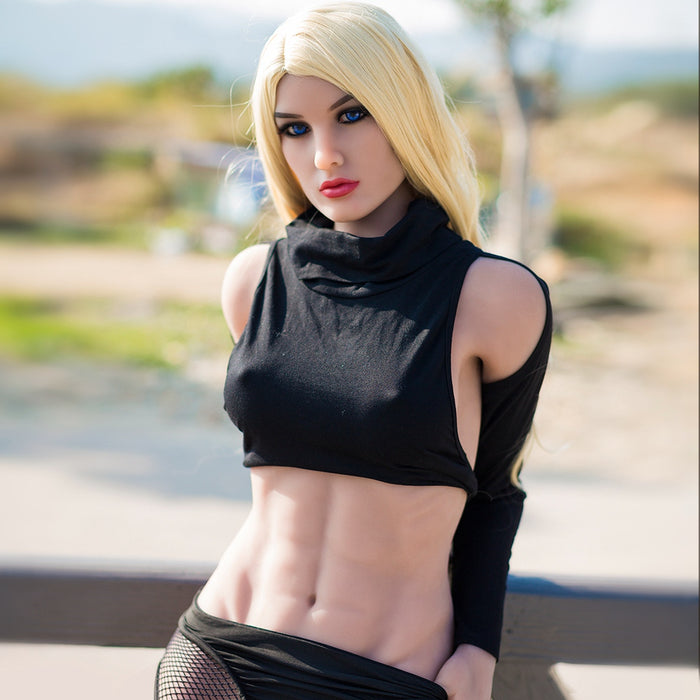 164cm Fitness Girl Muscular Sex Doll - Yvette
