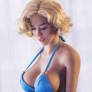 165cm Closed Eyes Life Size Sex Dolls -Mary JY Doll