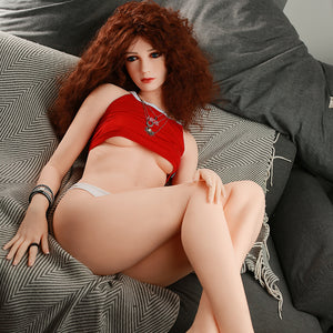 160cm Small Boobs Real Love Sex Doll Round Ass - May SY Doll