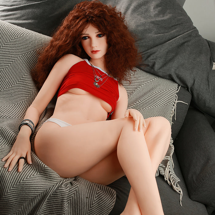 160cm Small Boobs Real Love Sex Doll Round Ass - May