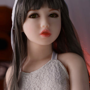 122cm Flat-chested Real Sex Doll - Tomomi 6Ye Doll