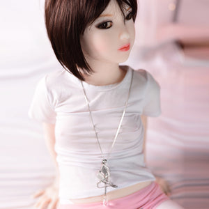 122cm Small  Flat Chest Sex Doll - Shino 6Ye Doll