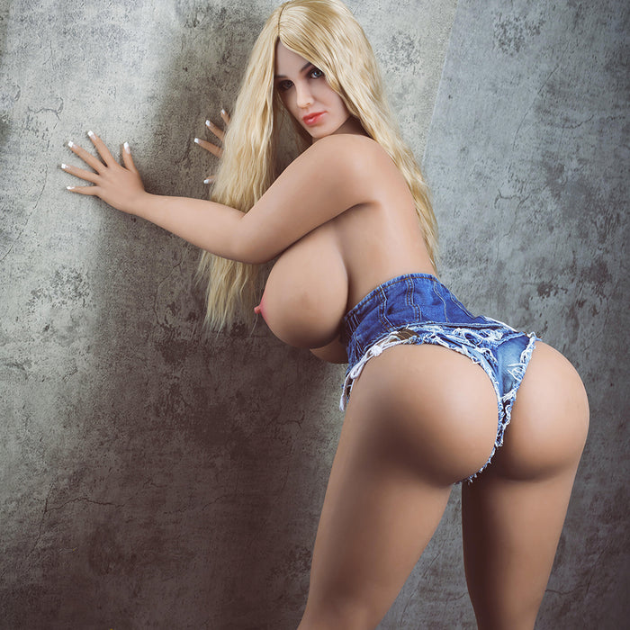 163cm Huge Breasts Big Ass Realistic Sex Doll - Cathy