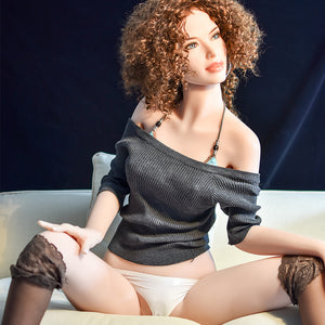 165cm Flat-chested Slim Sex Doll - Evelyn 6Ye Doll