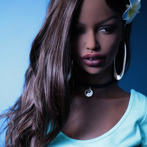 166cm Ebony Black Sex Dolls African Real Doll - Bella HR Doll