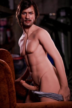 167cm Male Real Sex Doll Silicone Head - Charles HR Doll