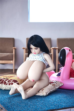 100cm Huge Boobs Mini Sex Doll - Kiki
