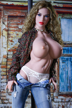 166cm Busty Life Size Silicone Sex Doll - Annabelle JY Doll