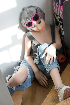 156cm Korean Girl Small Chest Sex Love Doll - Vivien WM Dolls