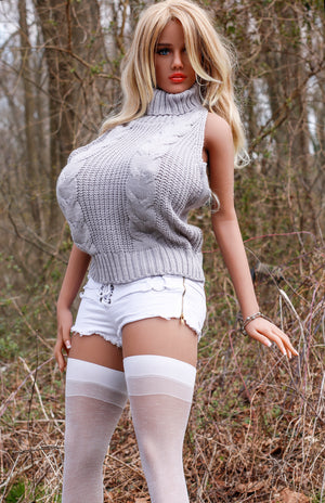170cm Huge Tits Realistic Adult Sex Doll – Flora JY Doll