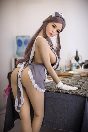 165cm Full Body Maid Real Sex Doll - Crystal WM Dolls