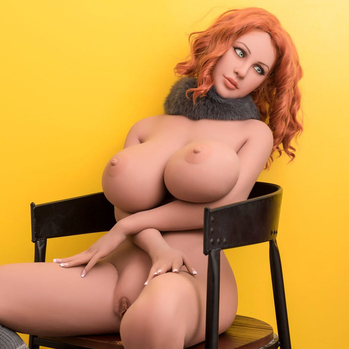 167cm Redhead Silicone Real Life Sex Doll – Megan