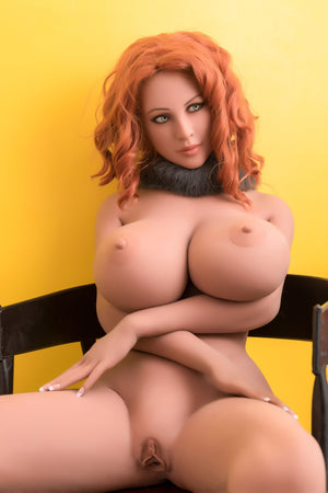 167cm Redhead Silicone Real Life Sex Doll – Megan WM Dolls
