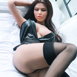 165cm Closed Eyes Realistic Adult Sex Doll - Junko 6Ye Doll