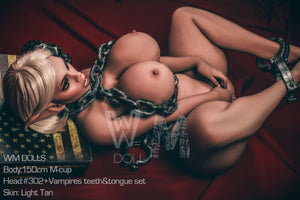 150cm Elf Sex Doll Busty Body Fat Ass Vampire Real Doll - Gwendolyn WM Dolls