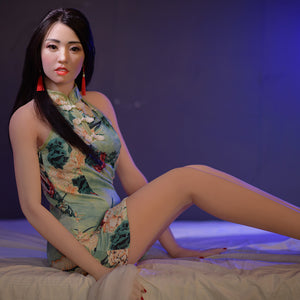 165cm Real Life Sex Doll with Silicone Head - Reba 6Ye Doll