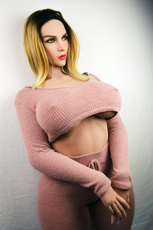 163cm Big Boobs Sex Doll BBW Fat Ass Love Doll - Doreen WM Dolls