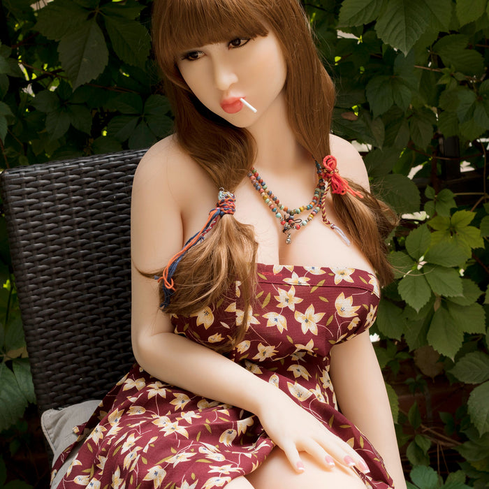168cm Life Size Silicone Love Doll Pouting Girl - Pamela