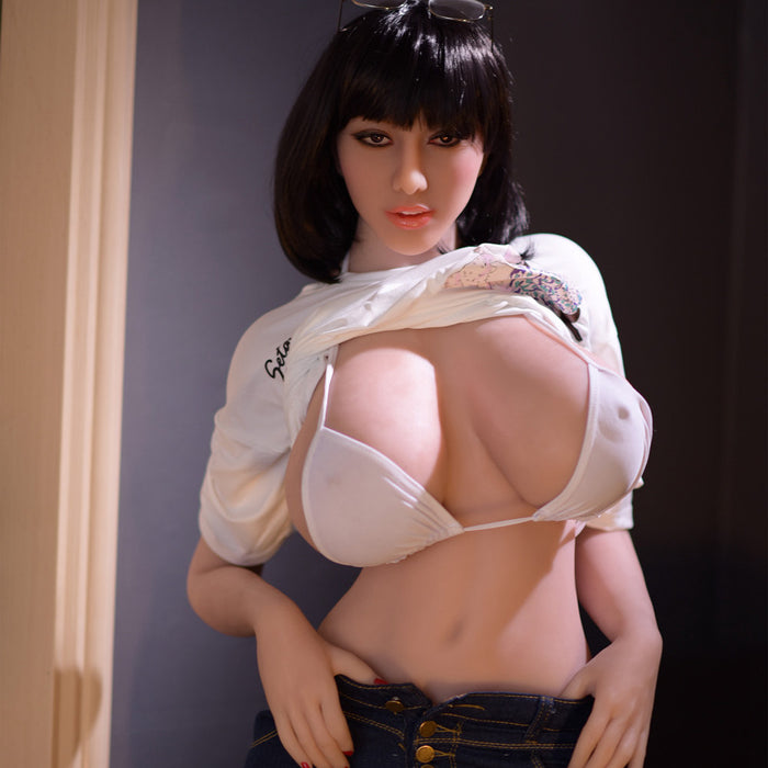 163cm Saggy Breasts Real Female Doll - Fleur
