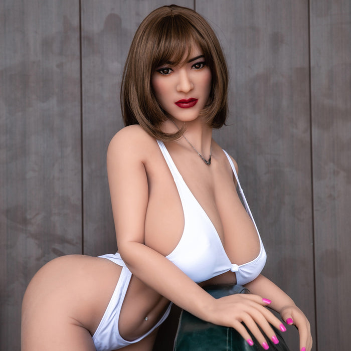 158cm Busty Real Love Sex Doll - Estelle