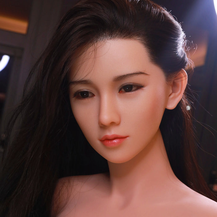 161cm Realistic Real Doll with Silicone Head - Evian