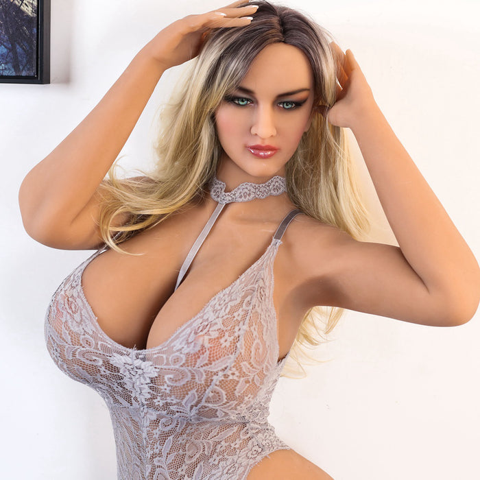 162cm Big Breast Realistic Silicone Sex Doll - Caroline