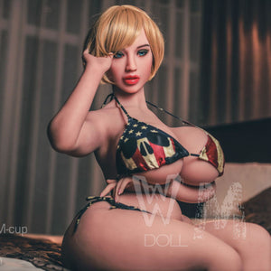150cm Huge Ass TPE Sex Doll Chubby Adult Doll - Alberta WM Dolls