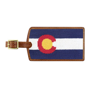 Big State Colorado Luggage Tag
