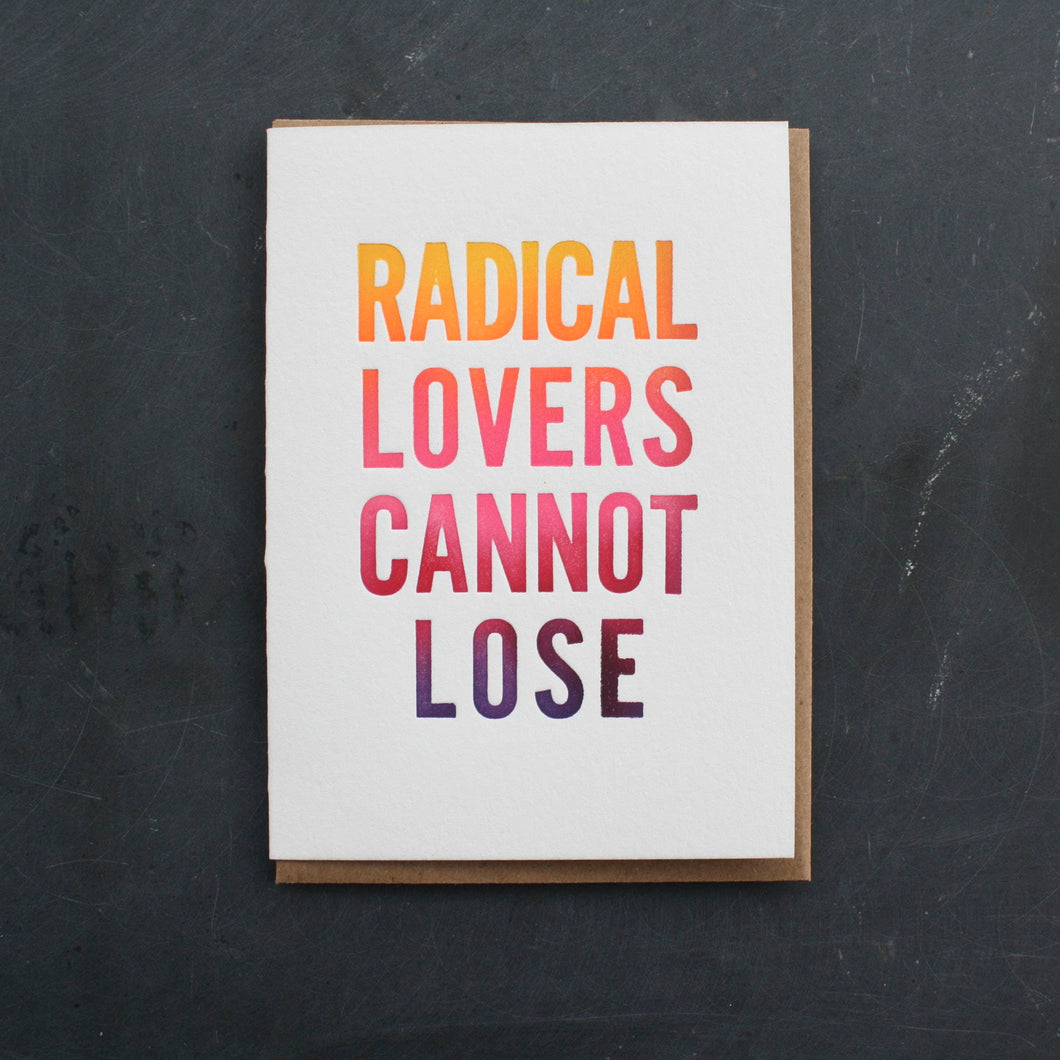 Radical Lovers Card