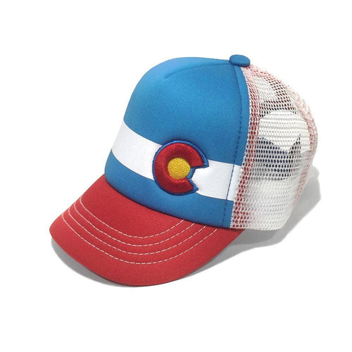 Lil Nugget Trucker Hat - Red and Blue