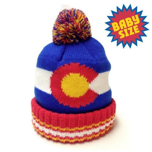 YoColorado - Kids Original Colorado State Flag Beanie