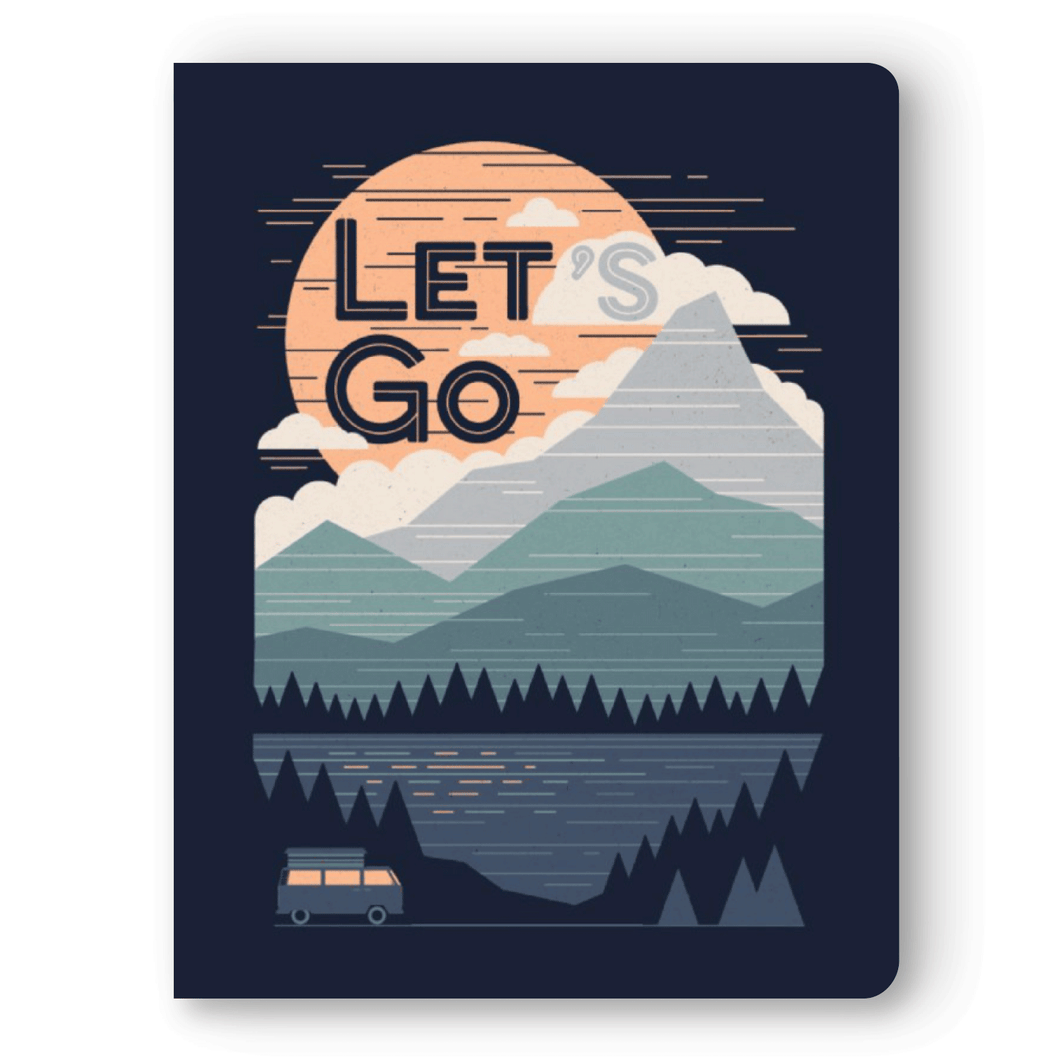 Let's Go Large Layflat Notebook