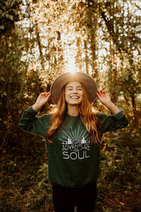 Let Adventure Fill Your Soul Unisex Fleece - Green