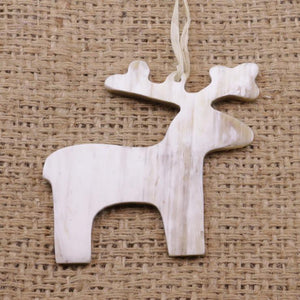 Cow Horn Ornament- Deer