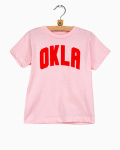 Children's OKLA Pink Tee