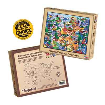 National Park Puzzle by Jr. Rangerland