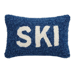 SKI Hook Decorative Pillow